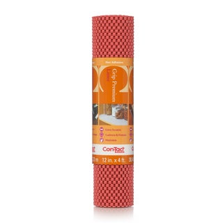 Con-Tact Brand Grip Premium Non-adhesive Shelf Liner, Rave 12 x 48-inch (6 Pack)