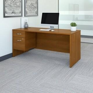 Series C 66W x 30D Office Desk with 3/4 Pedestal