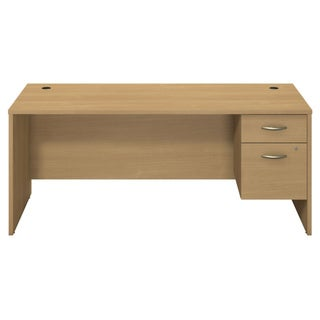 BBF Series C Collection 72 x 30 Desk Shell with 3/4 Pedestal