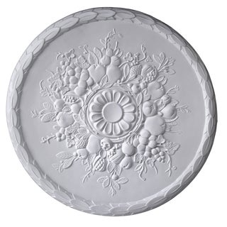 Gaudi Decor R348 Fruity 23-inch Round Ceiling Medallion