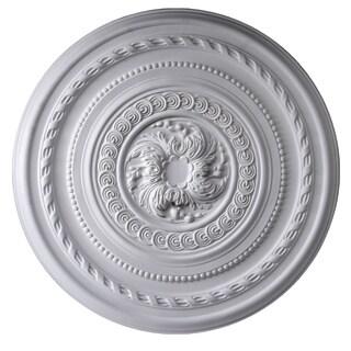 Gaudi Decor R336 Rows of Designs 26-inch Round Ceiling Medallion