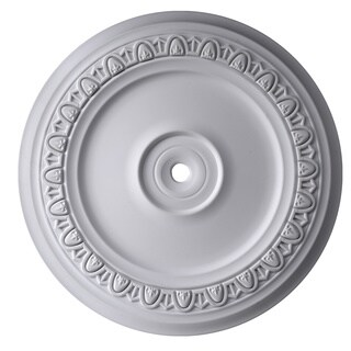 Gaudi Decor R311 24-inch Round Egg and Dart Ceiling Medallion