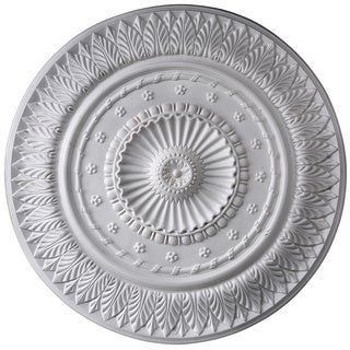 Gaudi Decor R337 Rich Details 26-Inch Round Ceiling Medallion
