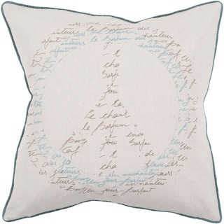 Decorative Ora Down or Poly Filled 22-inch Throw Pillow