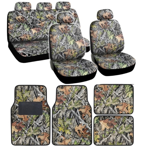 bdk camouflage car seat covers and floor mats - free shipping