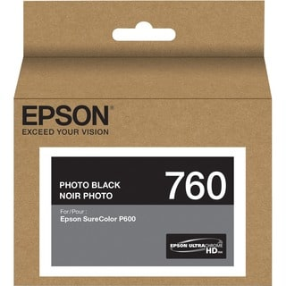 Epson UltraChrome HD T760 Original Ink Cartridge - Photo Black