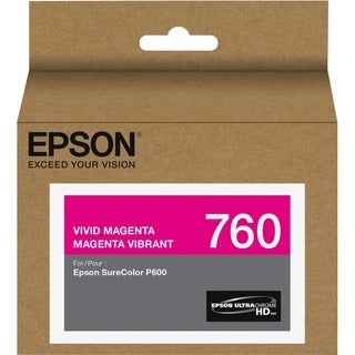Epson UltraChrome HD T760 Original Ink Cartridge - Vivid Magenta