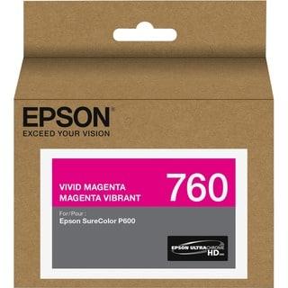 Epson UltraChrome HD T760 Original Ink Cartridge - Vivid Magenta