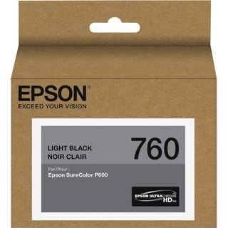Epson UltraChrome HD T760 Original Ink Cartridge - Light Black