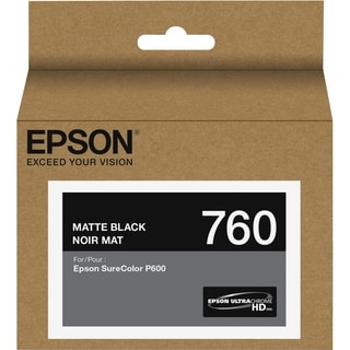 Epson UltraChrome HD T760 Original Ink Cartridge - Matte Black