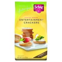 Schar Gluten-free Entertainment Crackers (Case of 6) - beige