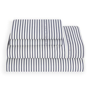 Tommy Hilfiger Signature Stripe Cotton Rich Sheet Set