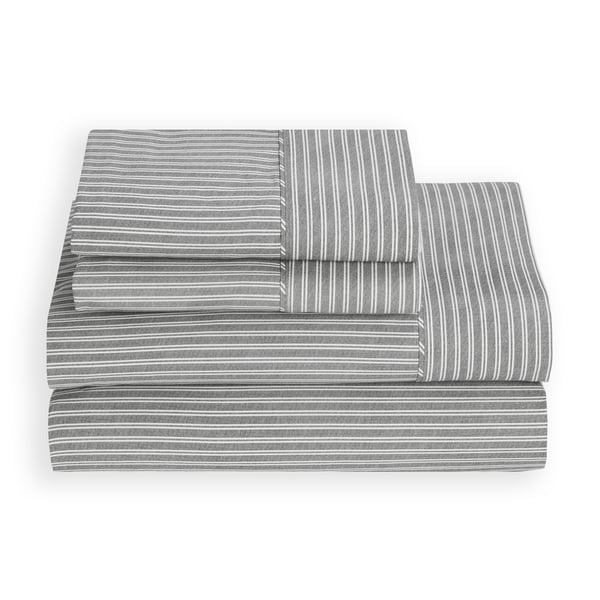 Tommy Hilfiger Sidgwick Dove Cotton Percale Sheet Set