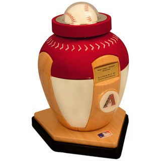 Official Major League National League Teams Baseball Urn