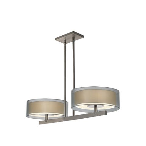 Sonneman Lighting Puri 2-light Bar Pendant