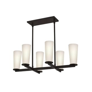 Sonneman Lighting High Line 6-light Rectangle Pendant