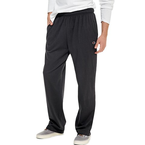 Champion Authentic Men's Open Bottom Jersey Pants