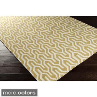 Hand-Woven Jo Reversible Wool Rug (2' x 3')
