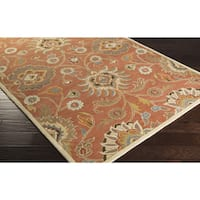 Hand-tufted Noah Traditional Wool Area Rug - 2' x 3'