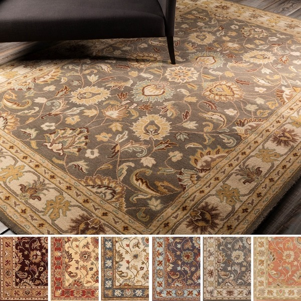 Shop Hand Tufted Nia Traditional Wool Area Rug 9 X 12