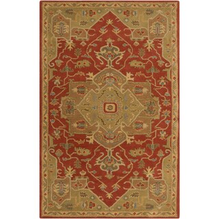 Hand-tufted Misty Traditional Wool Rug (9' x 12')
