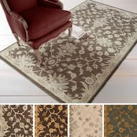 Hand-tufted Karla Traditional Wool Area Rug - 9' x 12'