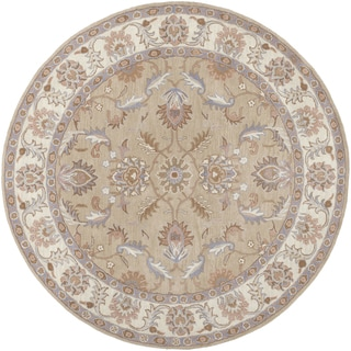Hand-tufted Reid Traditional Wool Rug (9'9 Round)