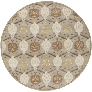 Hand-tufted Sofia Traditional Wool Rug (9'9 Round)