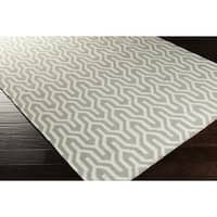 Hand-Woven Jo Reversible Wool Area Rug - 5' x 8'