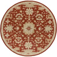 Hand-tufted Nolan Traditional Wool Area Rug - 6'