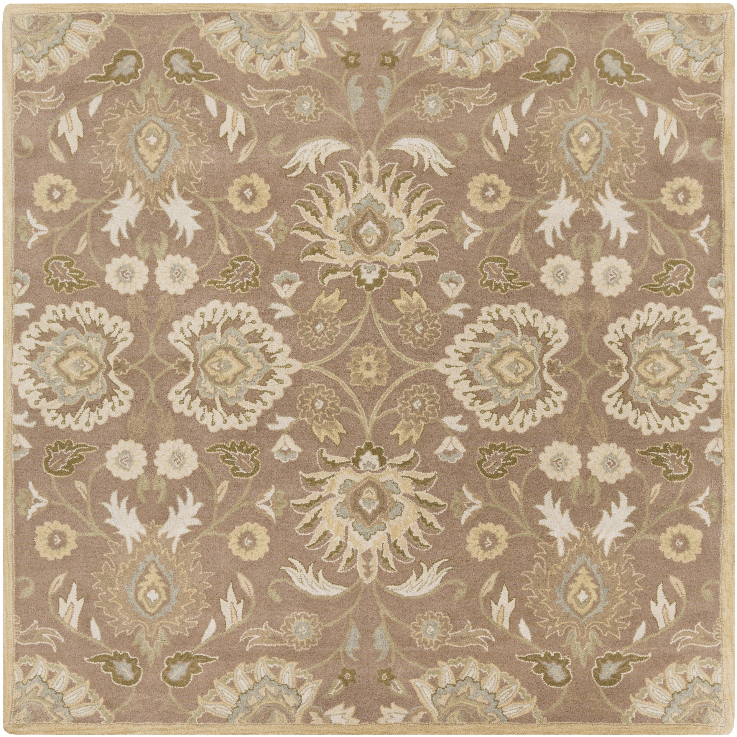Hand Tufted Noah Traditional Wool Area Rug 6