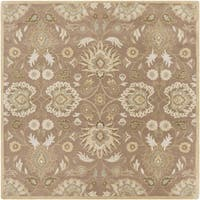 Hand-tufted Noah Traditional Wool Area Rug - 6'