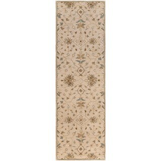 Hand-tufted Karla Traditional Wool Rug (3' x 12')