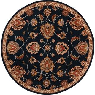 Safavieh Handmade Persian Legend Navy Rust Wool Rug 6