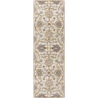 "Hand-tufted Noah Traditional Wool Area Rug - 2'6"" x 8'"