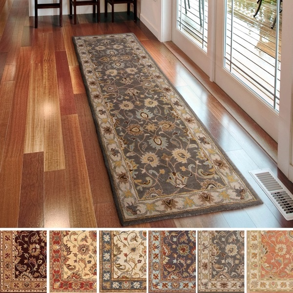 Shop Hand Tufted Nia Traditional Wool Area Rug 3 X 12