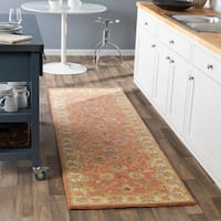Hand-tufted Nia Traditional Wool Area Rug (3' x 12') - 3' x 12'