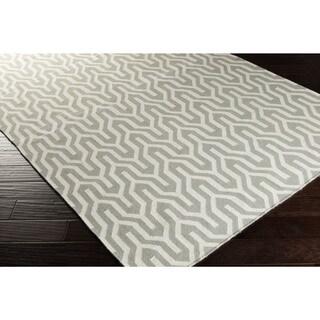 Hand-Woven Jo Reversible Wool Rug (8' x 11')