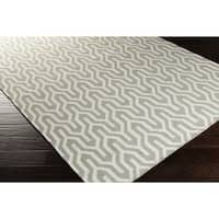 Hand-Woven Jo Reversible Wool Area Rug (8' x 11')