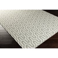 Hand-Woven Jo Reversible Wool Area Rug - 8' x 11'