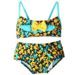 Azul Swimwear 'Prairie Girl' Bandeau Bikini|https://ak1.ostkcdn.com/images/products/9680372/P16859439.jpg?impolicy=medium