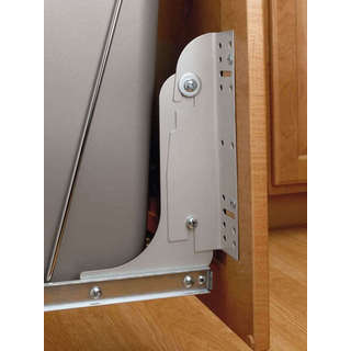 Rev-A-Shelf Silver Door Mounting Kit