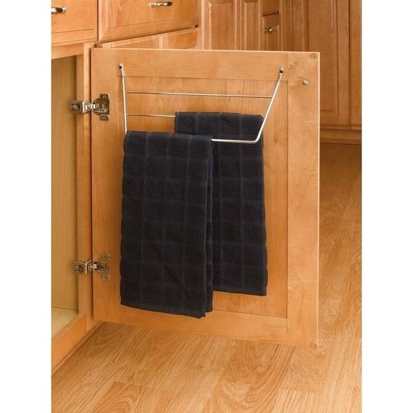 Shop Rev A Shelf Chrome 3 Rack Dish Towel Holder Free