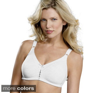 Bali Cotton Double Support Wirefree Bra