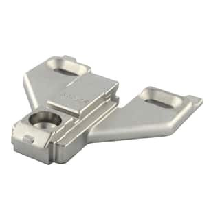 Blum Clip Top Face Frame Mounting Plate with Off-center Mounting, 0mm|https://ak1.ostkcdn.com/images/products/9680491/P16859595.jpg?impolicy=medium