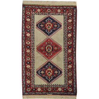 Persian Hand-knotted Qashqai Mint Cond Oriental Area Rug (4' x 7')