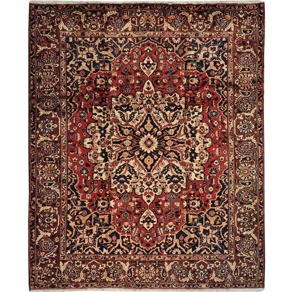 Shop Persian Hand Knotted 10x12 Bakhtiari Mint Cond Oriental Area Rug 10 X 12 Overstock 9680650