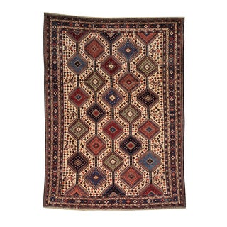Persian Hand-knotted Yalameh Oriental Wool Area Rug (8' x 11')