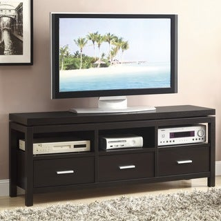 Cappuccino 3-drawer TV Console