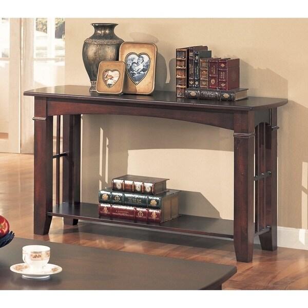 """Copper Grove Hagen Cherry Sofa table - 50"""" x 18"""" x 28"""""""
